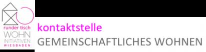 Logo Kontaktstelle Gemeinschafl. Wohnen