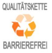 Logo von Qulitätskette Barrierefrei