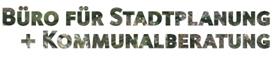 Logo Büro für Stadtplanung und Kommunalberatung