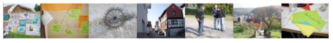 Bilder aus Projekten der Dorf- und Regionalentwicklung